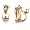 Earring Clip On With Hook Gold
